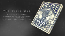 1 Deck BLUE The Civil War Bicycle Playing Cards Lincoln Grant Lee Davis Sherman