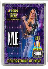 Pride In The Park Festival 2019 Brighton - Fridge Magnet Large 90 mm x 60 mm