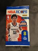 ✅🏀🔥2020-21 Panini NBA Hoops 8 cards per pack Gravity Pack-New Sealed
