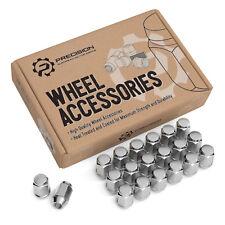 (20) 12x1.5 Bulge Chrome Lug Nuts (Cone Seat) for Acura Honda Mazda Toyota Lexus