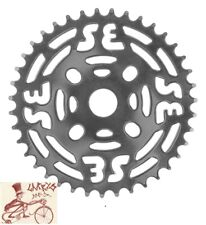 SE RACING BIKES  ONE-PIECE STEEL 39T CHROME CHAINRING SPROCKET