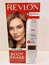 Revlon Root Erase #5 Medium Brown * Up to 3 Uses * Ships Same Day
