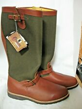 """NWT Mens 13 EE 23913 USA made CHIPPEWA 18.5"""" SNAKE BOOTS viper proof bite wide"""