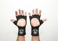 Protective fingerless neoprene gloves (pair)