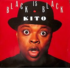 ++KITO i sais black is black/instrumental SP 1989 PROMO PHILIPS RARE EX++