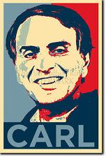 Carl Sagan art photo print 3 Poster Cadeau (Barack Obama espère Parodie) COSMOS