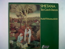 LP SMETANA ten czech dances Rudolf Firkusny TV 34673s