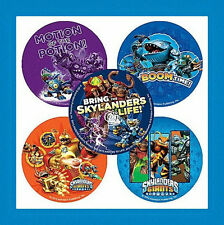 16 Skylanders Giants Character Stickers Party Favors