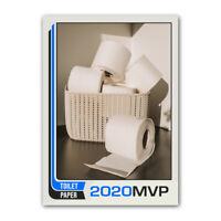 Corona 2020 Toilet Paper TP Novelty Funny Baseball Trading Card with Case
