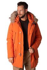 WOOLRICH Down Parka Jacket Size XL Canada Goose Fur Trim Coat XXL ARCTIC RRP£895