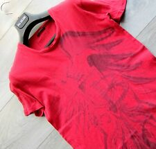 BALMAIN SHIRT M tshirt t red eagle