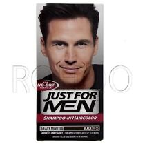 Just for Men Hair Colour Original Formula Real Black H55 X2