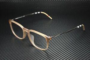 BURBERRY BE2283F 3750 Square Plastic Matte Brown Demo Lens 54mm Men's Eyeglasses