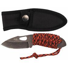 """MFH FoX Outdoor Messer """"Redrope"""" Klein Stonewashed Taschenmesser 16cm"""