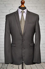 Próxima abotonadura simple 38R traje de chaqueta gris