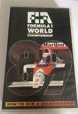 GENUINE AUTHENTIC F1 1989 REVIEW VHS FORMULA ONE OFFICIAL REVIEW VIDEO