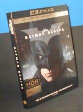 New listing Batman Begins (4K Ultra Hd + Blu-Ray, 3-Disc Set, 2017)