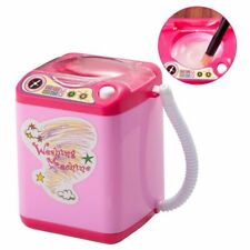 Mini Electric Makeup Brush Cleaner Automatic Cleaning Washing Machine - Pink