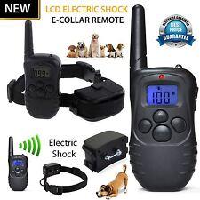 Recargable Electric E-Collar & Remoto Pet Safe Perro Shock formación Cuello Correa