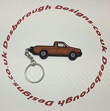 VW Golf Mk1 Caddy Key Ring Brown