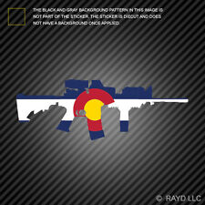 Colorado State Shape AR15 Sticker Decal AR-15 M16 M-16 CO
