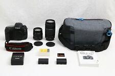 Canon EOS 5D Mark IV 30.4 MP Digital SLR Camera EXCELL+  BONUS TWO Canon Lenses