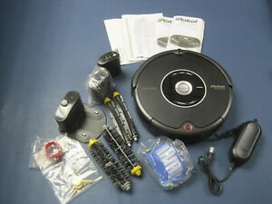 iRobot Roomba 595 Pet Series Unused & Complete w Box & Papers + Extras