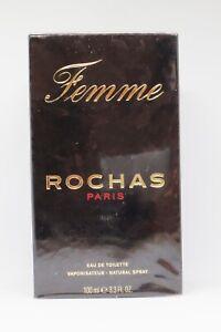 ROCHAS- FEMME EAU DE TOILETTE SPRAY 100 ML- NEU-OVP ( 100 ml / 37,90 € )