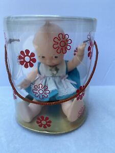 """KUDDLY KEWPIE 8"""" New in Container # 6208  FULLY JOINTED DOLL Cameo Doll Products"""