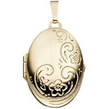 Medaillon 333 Gold Gelbgold H 27,3 mm Medallion Medaillion Medaillonanhänger