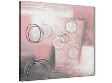 Blush Pink Grey Painting Kitchen Canvas Accessories - Abstract 1s433s - 49cm