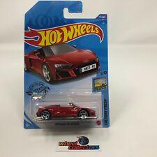 2019 Audi R8 Spyder #175 * RED * 2020 Hot Wheels * WF14