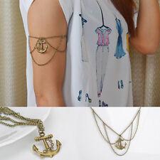 Fashion Arm Slave Harness Tassel Chain Upper Cuff Armband Armlet Bangle Bracelet