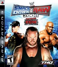WWE SmackDown vs. Raw 2008 Featuring ECW - Playstation 3 Game