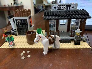 Vintage Lego 6755 - Western - Sheriff's Lock Up - No Manual