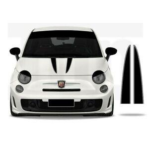 Car Bonnet Abarth Fiat 500 595 Punto Bonnet Stripe Graphic decal