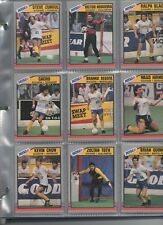 Pacific MISL (USA) 1989-1990 Card complete set in nine card pages
