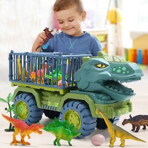 Dinosaur T Rex Toy Jurassic truck bulldozer outdoor excavator vehicles kids park
