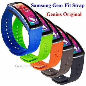 ◆GENUINE Original Samsung Galaxy Gear Fit Strap/Band Orange Blue Green Red Black