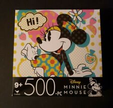 New listing New! Disney Cardinal Puzzle 500 Pieces Minnie Mouse 11 x 14 inches Ages 9+