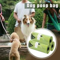 1/3 Roll Poop Bags For Dogs Garbage Bags Biodegradable Poo Waste Portable B8B0