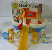 Vintage Chicco Noah's Ark Toy With Box