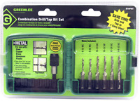 GREENLEE DTAPKIT  DRILL/TAP COMBINATION BIT SET 6 PC. NEW