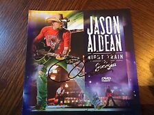 AUTOGRAPHED JASON ALDEAN Night Train to Georgia  DVD Signed