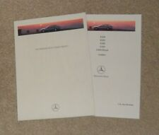 Mercedes T Series Estate Brochure 1995 - W124 - E200 E220 E280 E320 E300D