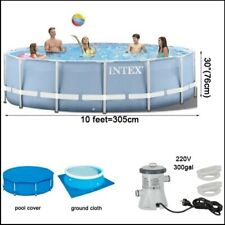 10*30 feet round family swimming pool with filter.. **GREAT FOR SUMMER**