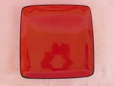 New listing Home Trends Rave Red Square Dinner Plate