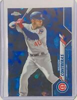 WILLSON CONTRERAS 2020 TOPPS CHROME SAPPHIRE REFRACTOR CARD #665 CHICAGO CUBS IL