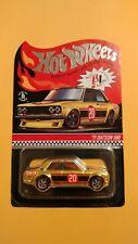 Hot Wheels 2020 Red Line Club RLC Gold 71 Datsun 510