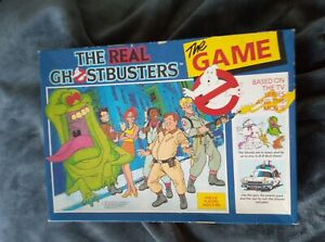 Vintage Real Ghostbusters The Game Board Game Triotoys 1989 - Complete